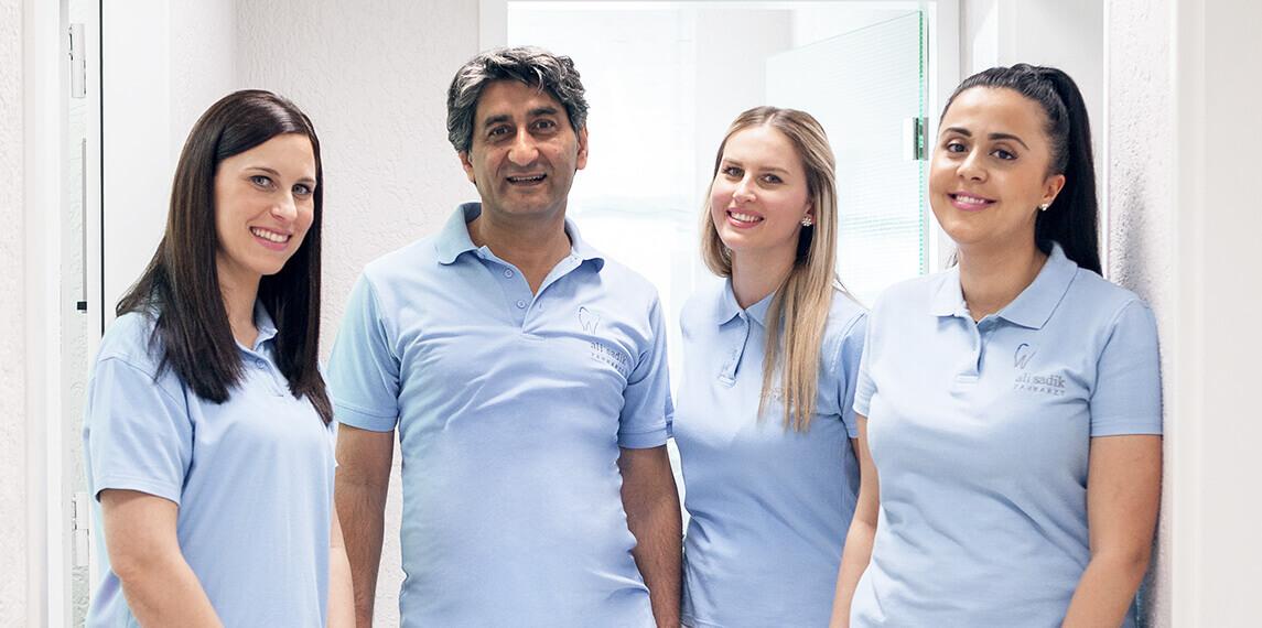 Team der Zahnarztpraxis Ali Sadik